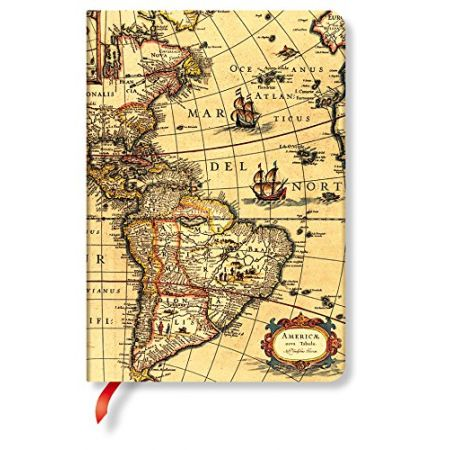 Notatnik Early Cartography Western Hemisphere Midi Lined