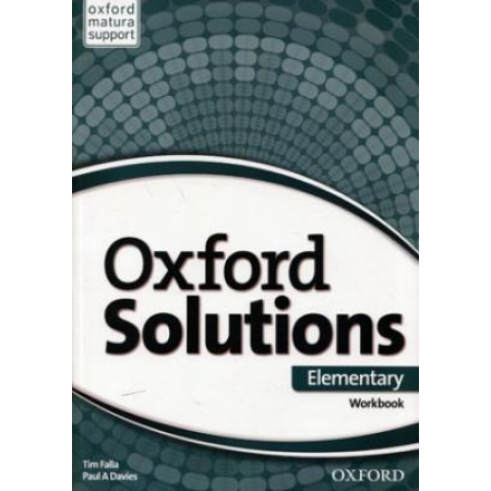 Oxford Solutions Elementary. Workbook
