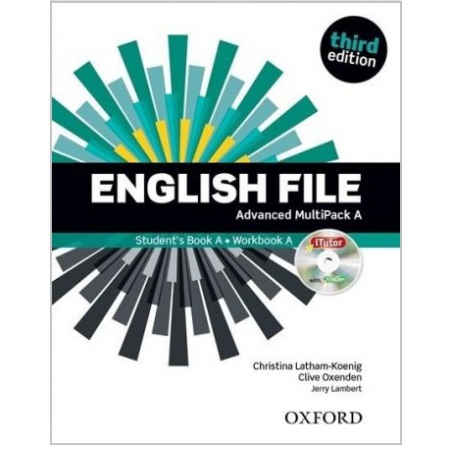 English File. Język angielski. Advanced Multipack A. Podręcznik + zeszyt ćwiczeń dla liceum i technikum. Wydanie 3