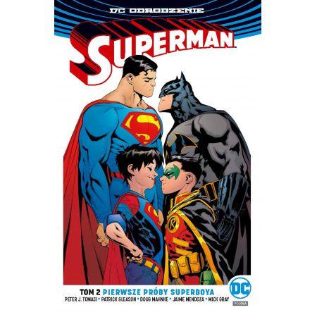 Superman. Tom 2. Pierwsze próby Superboya