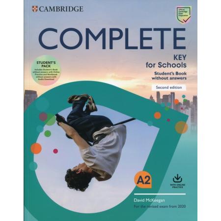 Complete Key for Schools. Poziom A2. Student`s Pack. Zestaw: podręcznik + zeszyt ćwiczeń do języka angielskiego bez odpowiedzi
