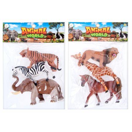 Zwierzęta Dzikie figurki MEGA CREATIVE 460479