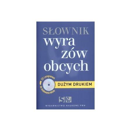 Słownik wyrazów obcych dużym drukiem