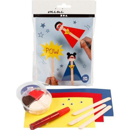 Zestaw mini mas plastycznych - Super bohaterowie