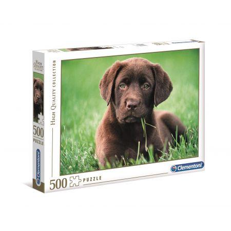 Puzzle 500 HQ Chocolate Puppy
