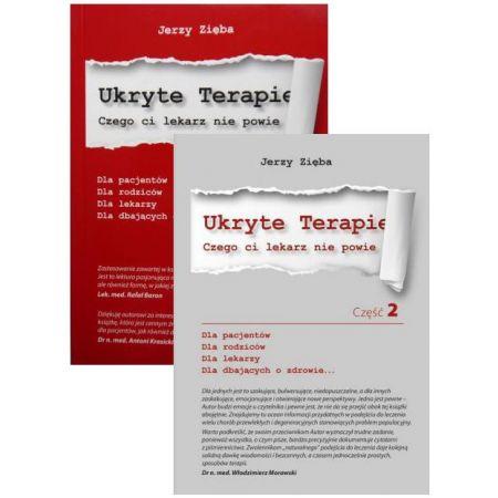 Zestaw 2 książek: Ukryte terapie. Część 1 i 2