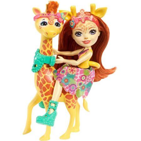 Enchantimals. Gillian i żyrafa