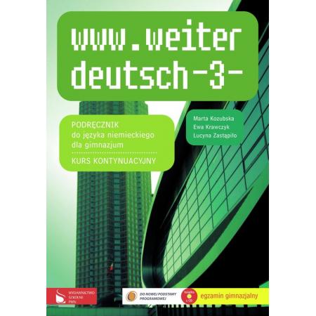 www.weiter deutsch 3. Podręcznik do języka niemieckiego. Gimnazjum