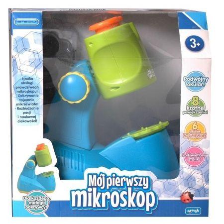 PROMO Mikroskop dla malucha w pudełku 129940