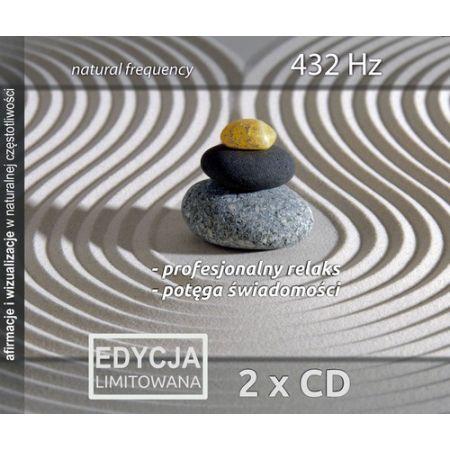 Profesjonalny relaks & Potęga Świadomości, 432 Hz, 2 CD