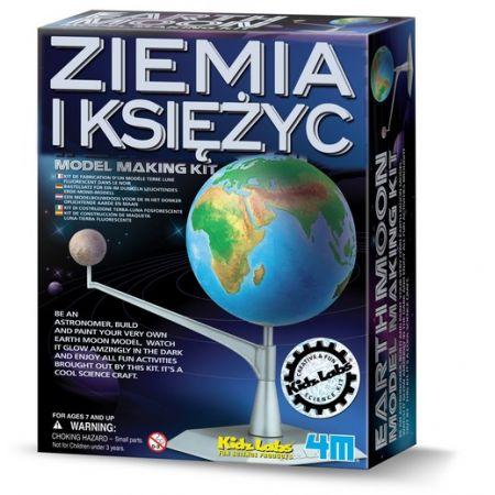 Zrób to sam - model Ziemi i Księżyca 3241 RUSSEL