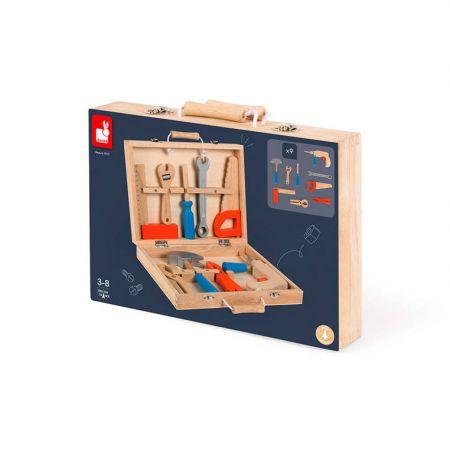 Walizka z narzędziami Brico 'Kids, Janod