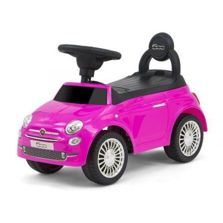 Jeździk Pojazd Fiat 500 różowy 3032 Milly Mally