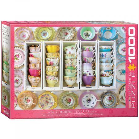Puzzle 1000 Filiżanki do herbaty 6000-5342
