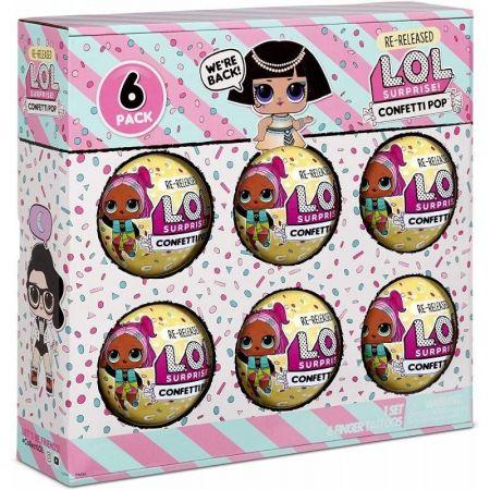 LOL Surprise 6-Pack Confetti Pharaoh Babe