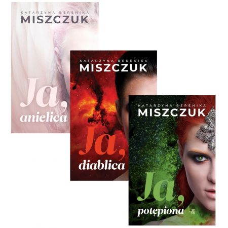 Zestaw 3 książek: Ja, diablica / Ja, anielica / Ja, potępiona - Katarzyna Berenika Miszczuk