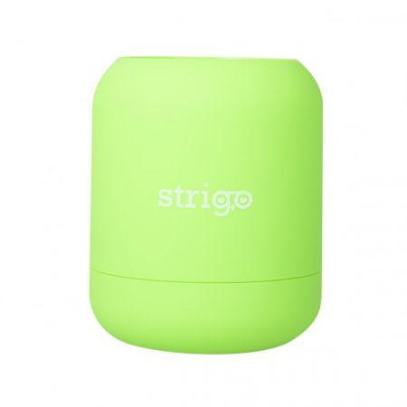 Pojemnik na długopisy zielony STRIGO