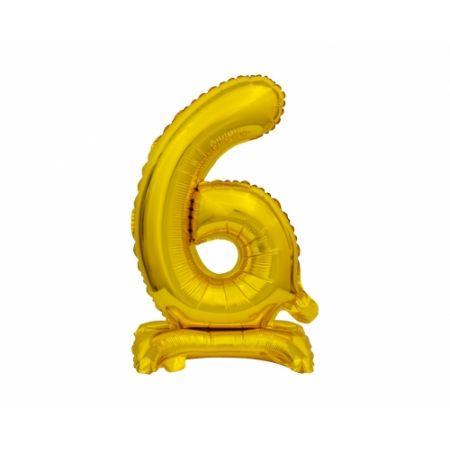 Balon foliowy B&C Cyfra stojąca 6