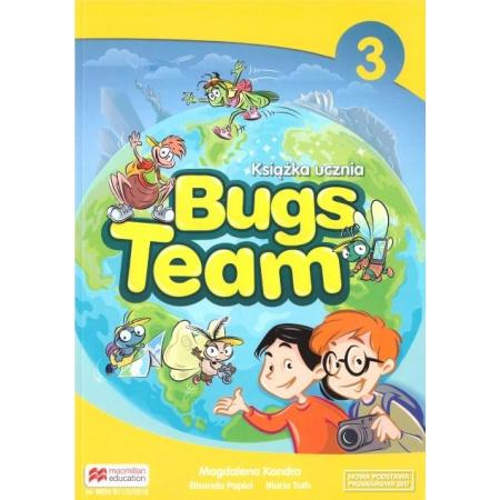 Bugs Team 3. Książka ucznia. Język angielski. Szkoła podstawowa