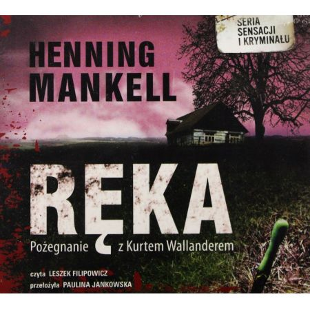 Ręka Henning Mankell Audiobook mp3 CD