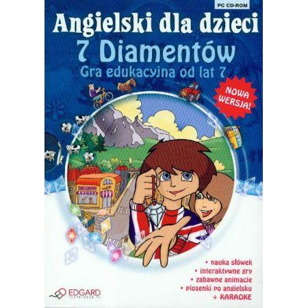 Angielski dla dzieci - 7 diamentów EDGARD