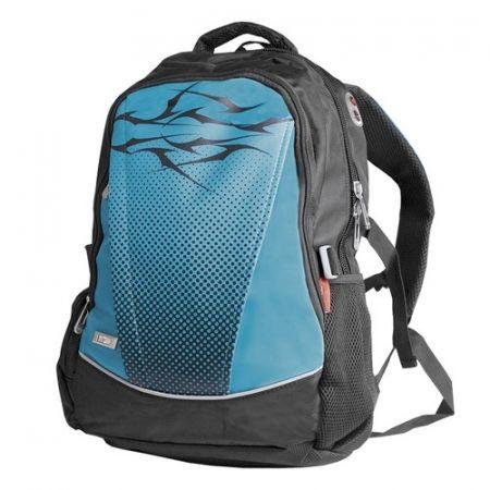 Plecak kropki niebieski