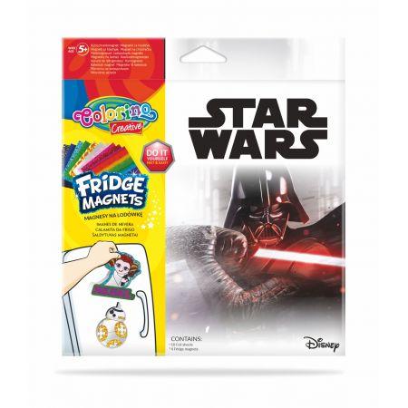 Magnes na lodówką mix 6 wzorów Star Wars