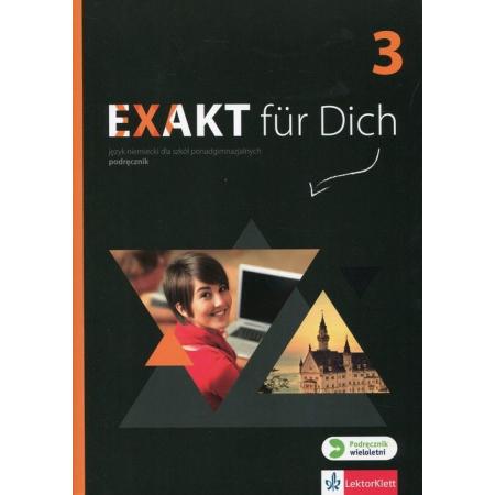 Exakt fur Dich 3 podręcznik + CD LEKTORKLETT