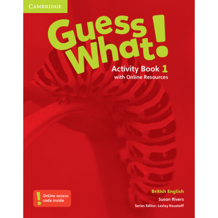 Guess What! 1 Activity Book with Online Resources