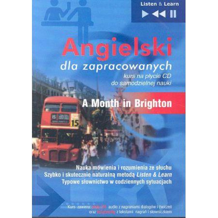 Angielski dla zapracowanych A month in Brighton (Płyta CD)