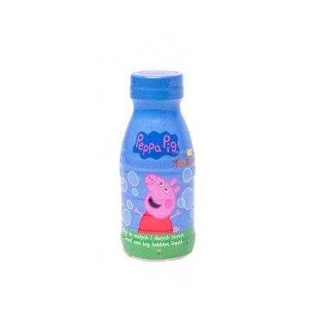 Płyn do baniek mydlanych Świnka Peppa 250ml TUBAN