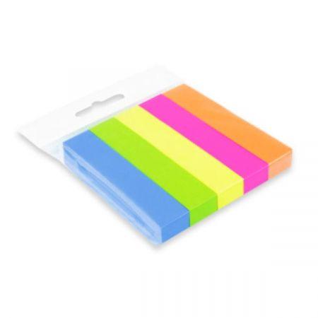Notes/ zakładka samoprzylepna 15x76mm 5 kolorów