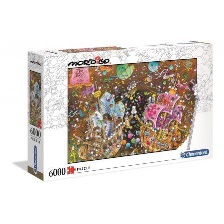 Puzzle 6000 Mordillo The Kiss