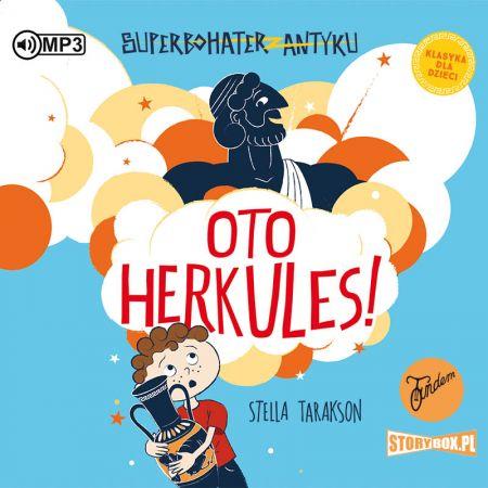 CD MP3 Oto Herkules! Superbohater z antyku. Tom 1