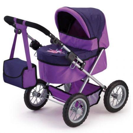 Bayer Wózek głęboki dla lalki Trendy fioletowy 13012AA