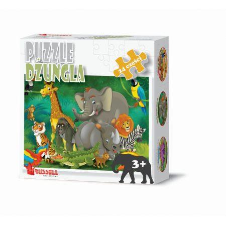 Puzzle 24 - Dżungla RUSSEL