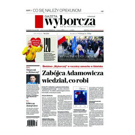 Gazeta Wyborcza - Olsztyn 9/2020