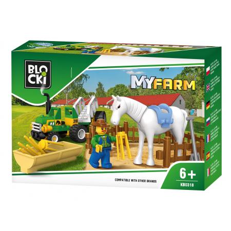 Klocki Blocki MyFarm 43 elementy KB0318