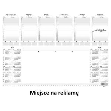 Kalendarz 2020 Biuwar z listwą BESKIDY