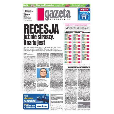 Gazeta Wyborcza - Płock 266/2008