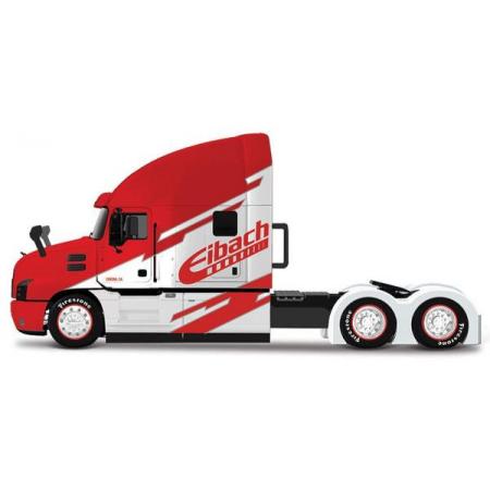 MI 12389-53 Cieżarówka Mack Anthem czerwono-niebieska 1:64