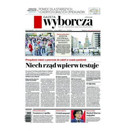 Gazeta Wyborcza - Olsztyn 117/2020