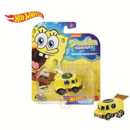 Hot Wheels. Samochodzik Spongebob GMR58