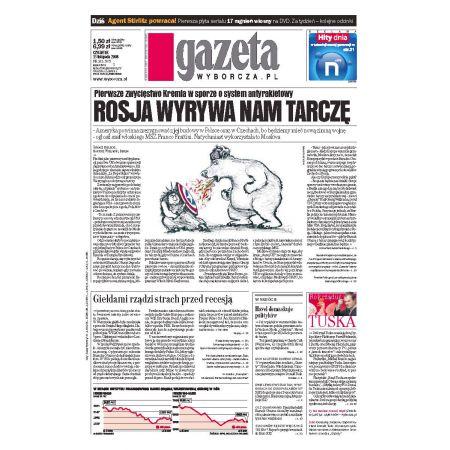 Gazeta Wyborcza - Kielce 265/2008