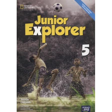 Junior Explorer 5. Zeszyt ćwiczeń do języka angielskiego dla klasy 5 szkoły podstawowej