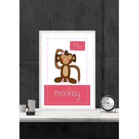 Monkey. Plakat premium