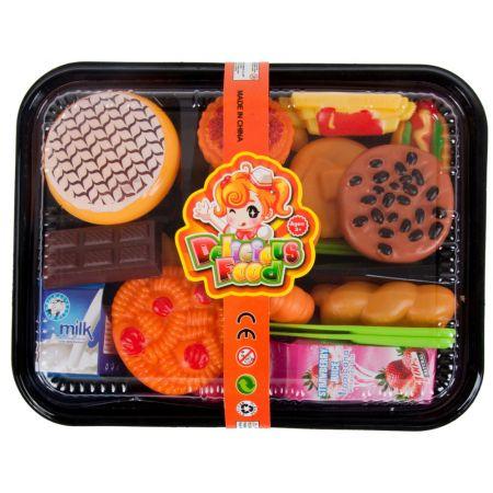 Zestaw kuchenny  żywność Pyszne jedzenie    taca MEGA CREATIVE 459763