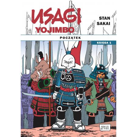 Usagi Yojimbo. Początek. Księga 1
