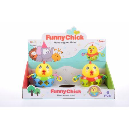Zabawka dla dzieci Kurczak z kulą MEGA CREATIVE 460320