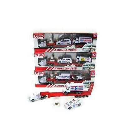 Truck+2 pojazdy pogotowie w pud. JP9101,cena za 1szt